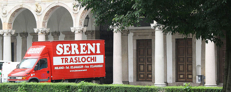 Traslochi Internazionali San Vittore Milano - Contattaci per Un Preventivo